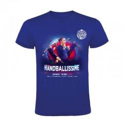 T-shirt Enfant Affiche Euro Handball Bleu